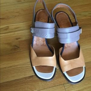 Chie Mihara Genuine Leather Sandals